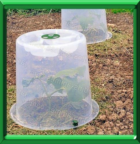 Cloche de protection - Cloche en plastique transparent jardin ...