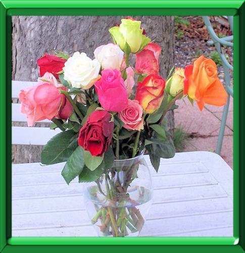 bouquet de fleurs - astuces pour le conserver plus longtemps
